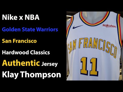 Nike Golden State Warriors Authentic San Francisco Jersey