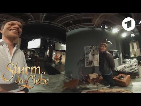 360-Grad-Freitag: Florian Frowein in Viktors Zimmer   Sturm der Liebe
