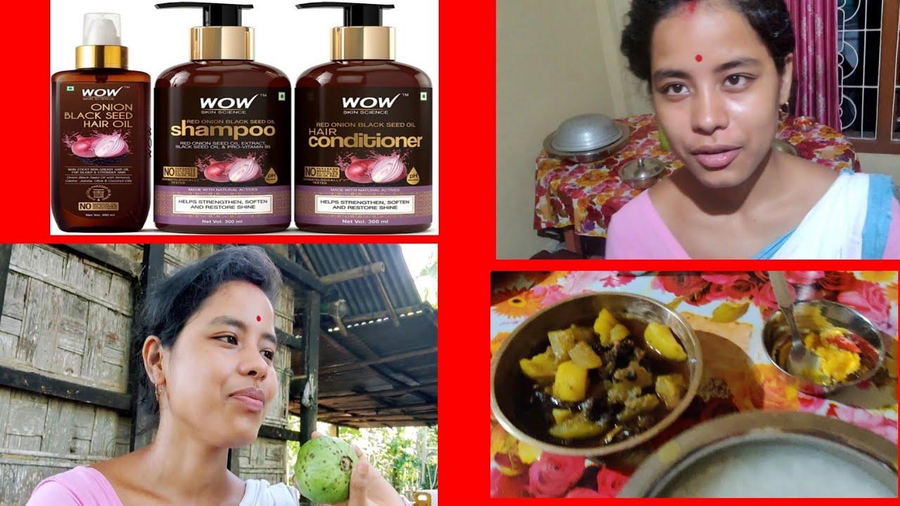 হাঁহ আৰু কোমোৰাৰ জুতি / Wow ৰ shampoo টো ভাল নে বেয়া / Assamese vlog