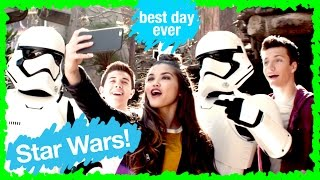 Disney Channel Stars - Star Wars Fireworks | WDW Best Day Ever