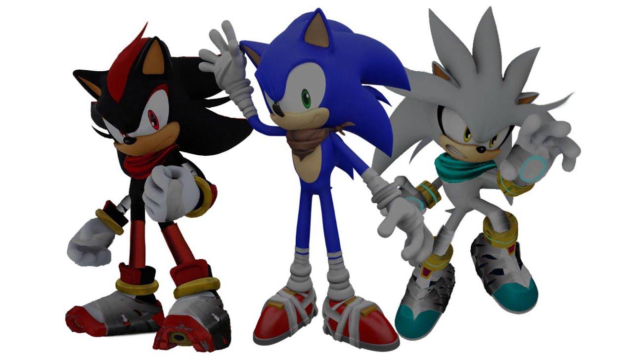 Sonic boom tribute sonic shadow silver youtube - Shadow sonic boom ...