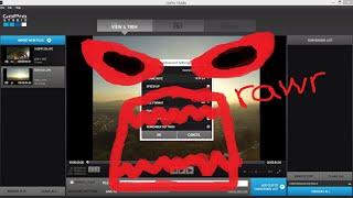 GoPro Studio Keeps Crashing, FIXED! [Explicit]