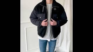[그남자] 뽀글이 무스탕 자켓