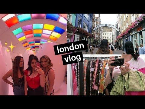 LONDON VLOG: my life living in london for 3 weeks   lindseyrem