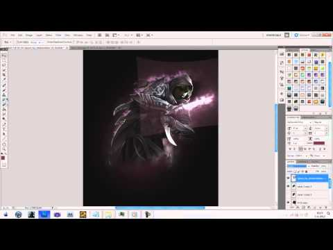 Speed art Ep. 9 Guild Wars 2 Thief