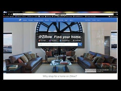 Полезный сайт с информацией о недвижимости в США Zillow.com #39 Первые шаги в США