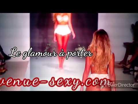 Défilé de lingerie Glam et sexy