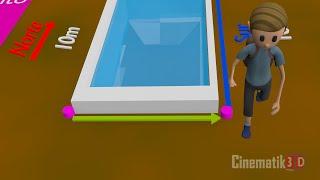 Ejemplo de Distancia y Desplazamiento:  Cinemática 3D