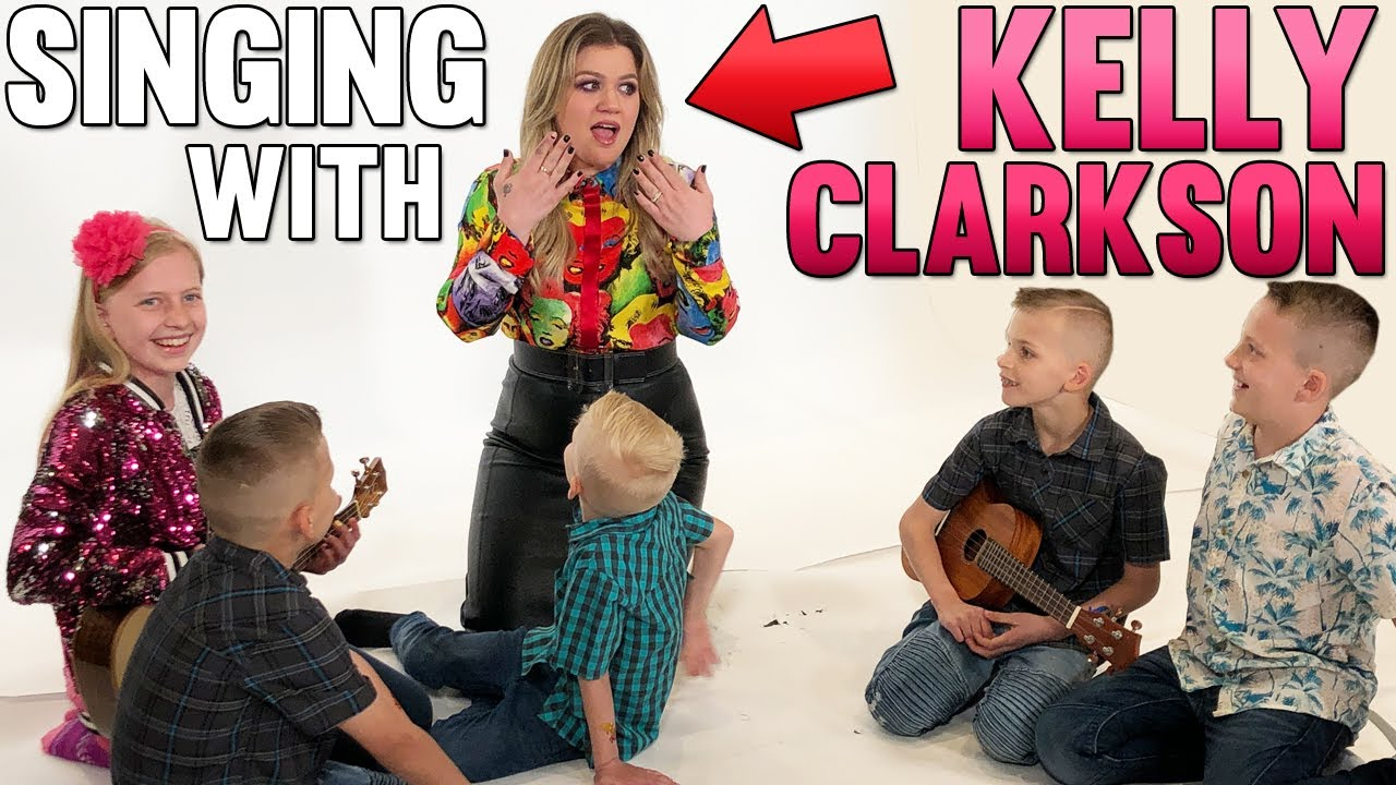 We Made Kelly Clarkson Cry!   Mommy Monday   KidsTube Video
