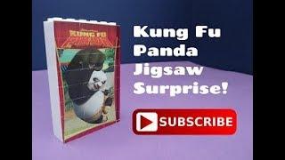 Kung Fu Panda 3D Jigsaw Puzzle Toy Egg Surprise!