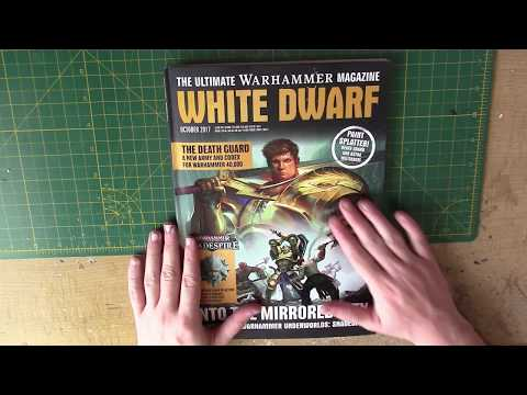 White Dwarf October 2017 - Shadespire, Custom Primaris Chapters and Gretchin!