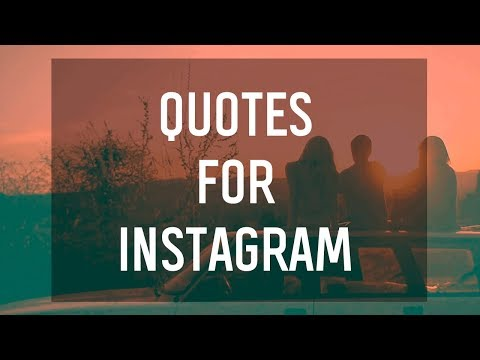 Quotes for Instagram