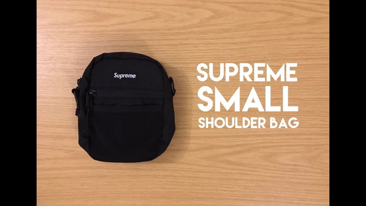 b427d62b02 Supreme Small Shoulder Bag - Review - YouTube