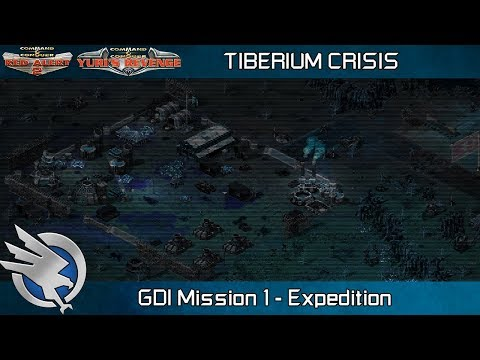 Tiberium Crisis Red Alert 2 - GDI Mission 1, Expedition