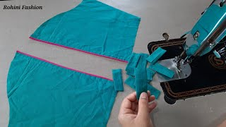 Simple and easy sleeve design   Simple and easy method of stitching