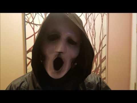MTV Scream Costume Test