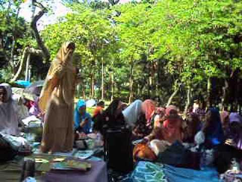 Praktek Menjadi Guru TPQ.....Ustadzah Kuswiyati dari LPTQ DDHK