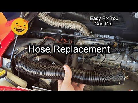 Lotus Evora – Heat Extractor Hose Fix!