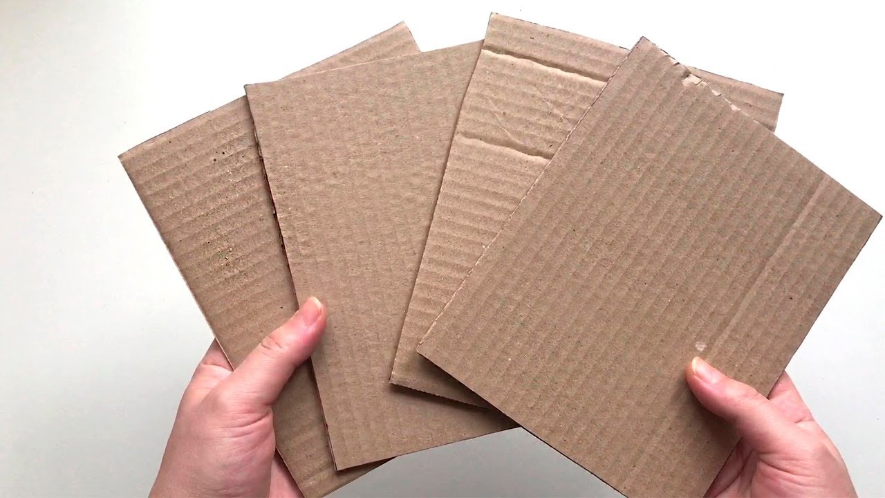 DIY 6 cardboard ideas | Craft ideas with Paper and Cardboard | Paper craft