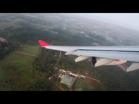 SriLankan Airlines A340-300 Colombo-Malé/Maldives Safety, Takeoff, Inflight, Landing, UL101