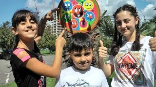 Fun Outdoor Games with Guka Nastya and Maria - Activities for Kids by Guka Family Show