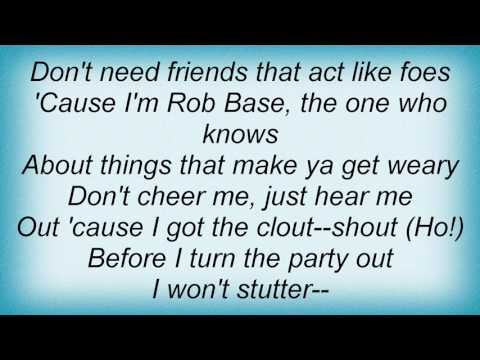 Rob Base & DJ E-Z Rock - It Takes Two Lyrics