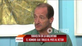 John Travolta en una panadería de Argentina: Habló el dueño del local