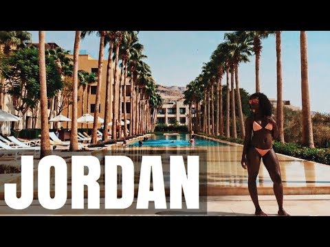 JORDAN TRAVEL VLOG - SWIMMING IN THE DEAD SEA | SASSY FUNKE