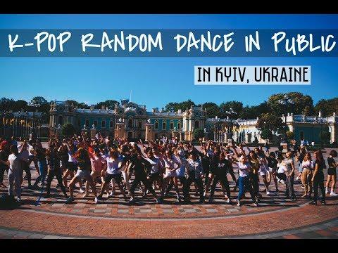 KPOP RANDOM PLAY DANCE IN PUBLIC In Kiev, Ukraine
