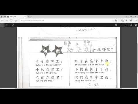 Mrs. Madden 3rd grade Mandarin class, 2017-2018, Part 2 (2 videos)