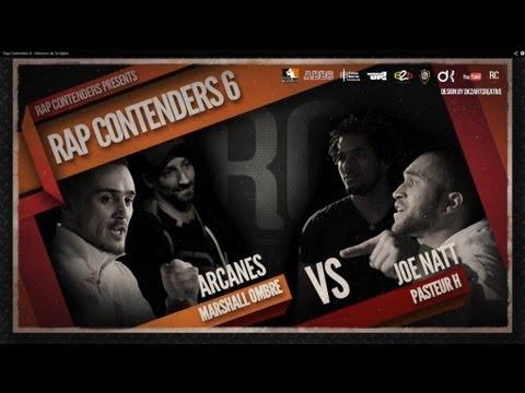 Rap Contenders - Edition 6 - Marshall'Ombre & Arcanes vs Joe Natt & Pasteur H