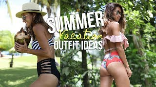 VACATION LOOK BOOK- PUERTO RICO | Summer Outfit Ideas! Melisa Michelle