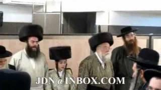 Bar Mitzvah grandson of  Toldos Aharon Rebbe Sivan 5770