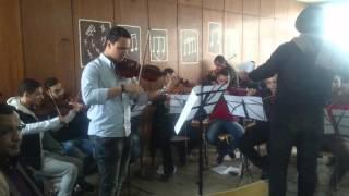 مشروع كمان شرقي (( ان راح منك يا عين )) شادية - عزف/ فادى بدر
