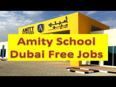 Jobs In Dubai Directly From Big School With Free Visa & Free