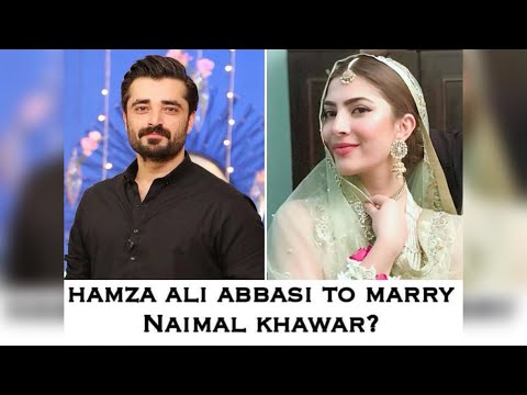 Hamza Ali Abbasi Marry To Naimal Khawar - Will tie knots on