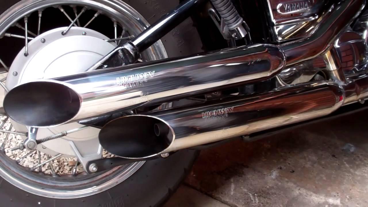 Yamaha V Star Exhaust