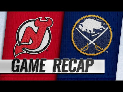 Smith, Pilut net first NHL goals in Sabres' 5-1 win