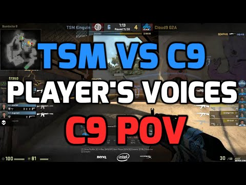 Katowice  2015 - TSM vs C9 with players communications (C9 POV in English)