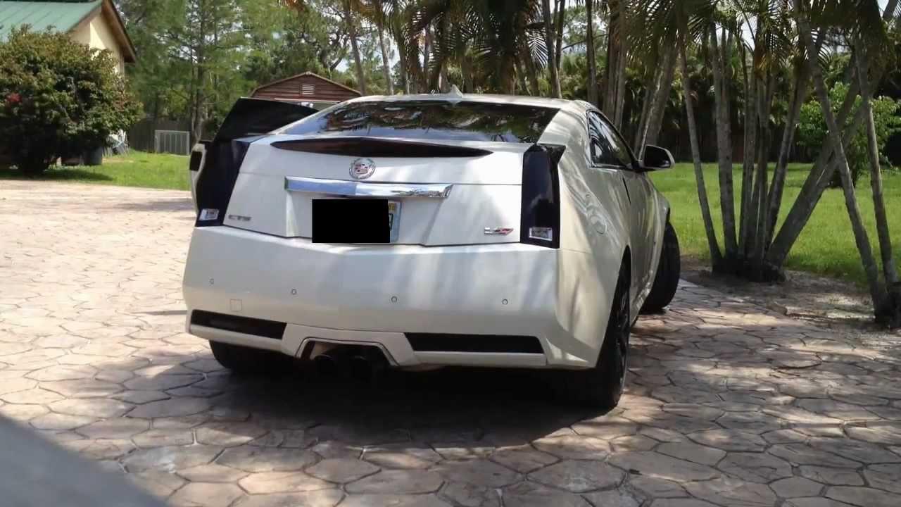 Cadillac Cts V Coupe >> 680HP Cadillac CTS-V Coupe - Kooks & Corsa Sport Startup Sound - YouTube