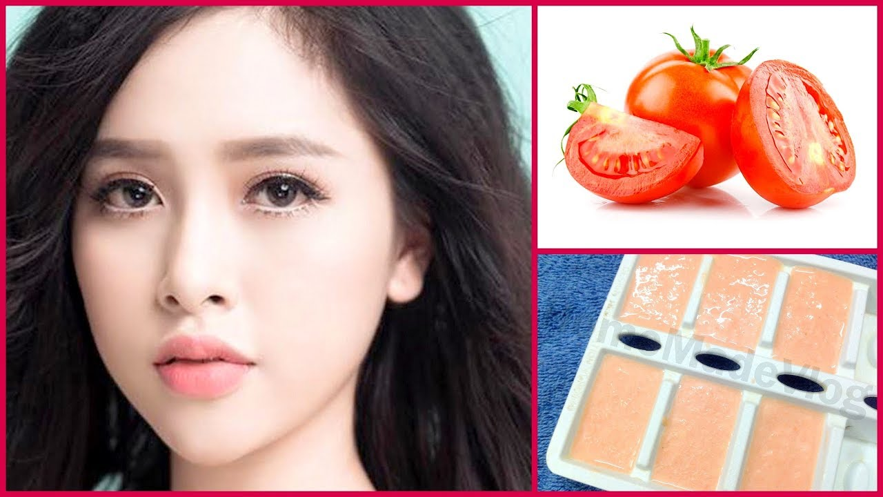 Skin Whitening Tomato Facial Mask at Home|Get Fair,Spotless,Glowing Skin,Remove Dark spots naturally