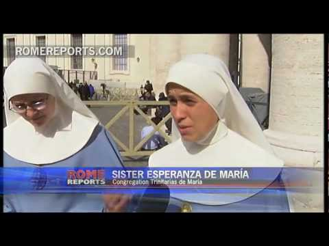 From Mexico to Rome. Why a group of three nuns is visiting the Vatican every day