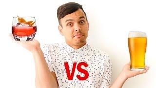 Beer vs. Liquor