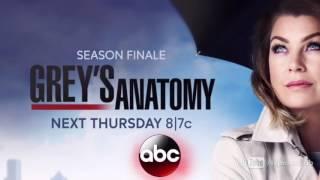 Anatomia de Grey 12x24 Promo Avance Temporada 12 Capitulo 24