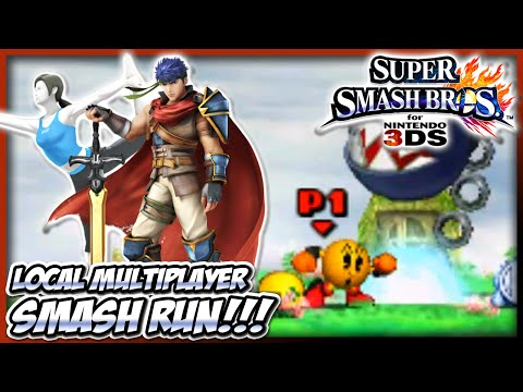 Super Smash Bros 4 (Wii U / 3DS) - Smash Run #01 (Multiplayer Gameplay!) | Don't Poke The Bear!