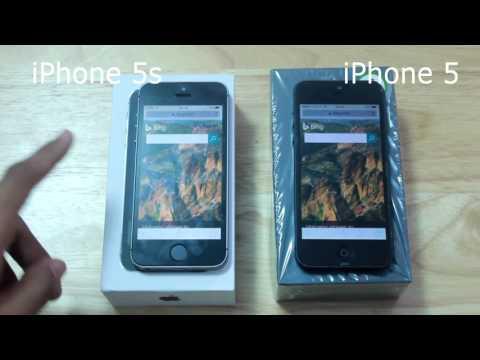 iPhone 5 vs iPhone 5s เปรียบเทียบหลังอัพ 9.3.5