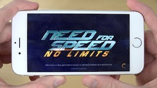 Need For Speed No Limits iPhone 6 4K Gameplay Review