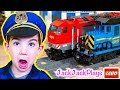 Lego City Train Heist: Pretend Play Cops & Robbers Skits