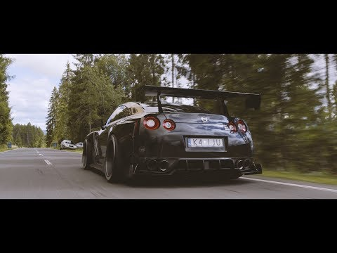 Forest Chase with Nissan GTR