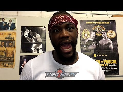 """DEONTAY WILDER REACTS TO JOSHUA/MILLER RUMORS """"LAUGHABLE! THEY ARE TERRIFIED! THEY ARE RUNNING!"""""""